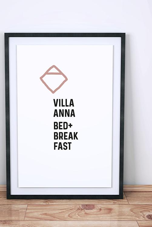 Projekt: Villa Anna B&B. GREENTONIC ist eine nachhaltige Agentur für Consulting und Design.GREENTONIC steht für klares, konzeptionelles Design, das in Erinnerung bleibt.