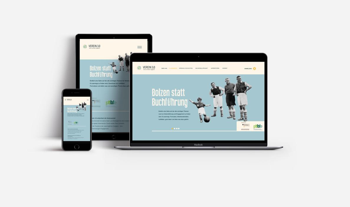 Verein 3.0 - Responsive Design, Mobile, Tablet, Desktop | WerteWissenWandel, Gesellschaft für Zukunftsgestaltung gGmbH